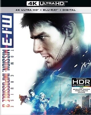 MISSION IMPOSSIBLE 3 New Sealed 4K Ultra HD UHD + Blu-ray