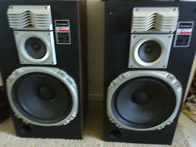 Vintage-Technics-SB-L75-3-Way-Floor-Speakers-150-Watt