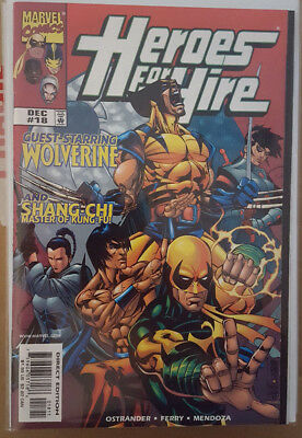 Heroes For Hire # 18, & # 19, (Power Man, Iron Fist, Wolverine / Marvel Comics)