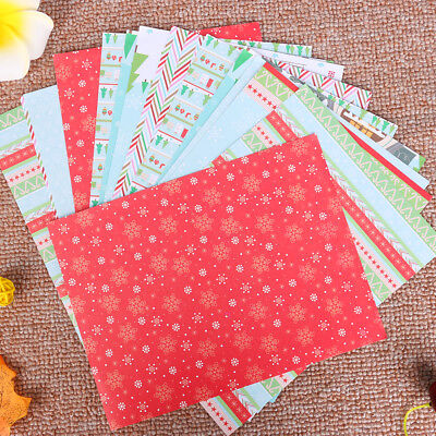 Craft Paper Card Background Paper Scrapbooking Pad Merry Christmas Stickers