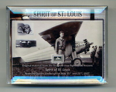 Genuine Piece of Charles Lindbergh's Plane The Spirit of St. Louis