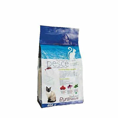 Pure Nature Cover Croquettes Cat Adult 400Gr Fish Blue Food Cat