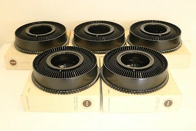 Lot of 5 Vintage Kodak Carousel Slide Tray 80 Capacity