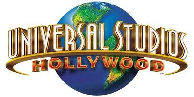 Universal Studios Hollywood Ticket- 9month SEASON PASS Adult/Child. Exp 1/31/19