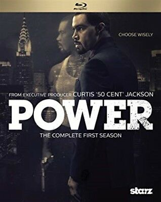 POWER TV SERIES COMPLETE FIRST SEASON 1 New Sealed Blu-ray