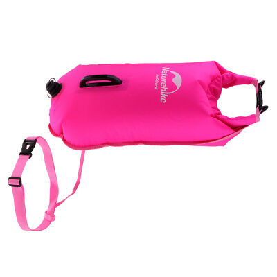 Inflatable Safety Swim Buoy Float Dry Bag for Swimming Swimmers, Triathletes