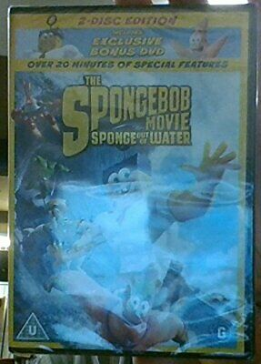 The Spongebob Movie - Sponge out of Water (2 disc edition - Bonus... - DVD  2NVG