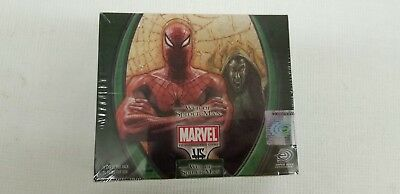 Marvel VS System Trading Card Game Web of Spider-Man Booster Box (Upper Deck)