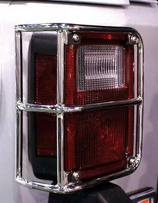 Tail Light Guard Rampage 88460 fits 07-16 Jeep Wrangler