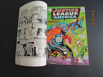 Justice League of America #36 DOUBLE COVER (Jun 1965, DC)