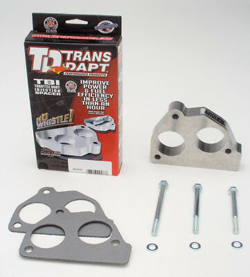 Fuel Injection Throttle Body Spacer Trans Dapt Performance 2733