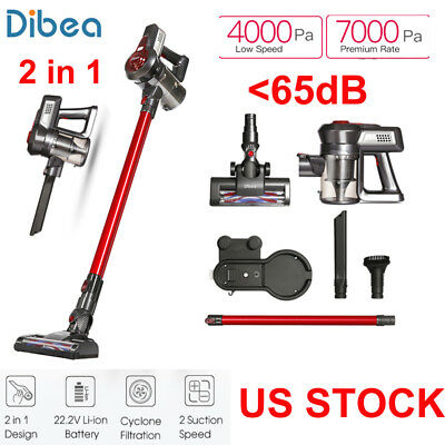Dibea C17 2-in-1 Handheld Stick Wireless Vacuum Cleaner Cleaning 7000pa US STOCK