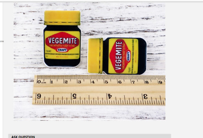 Vegemite Planar Resin flatback (pack of 5)