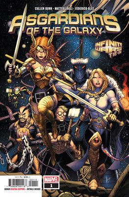 Asgardians Of The Galaxy Issue #1 Infinity Wars Tie-In Marvel Comics comic MINT!