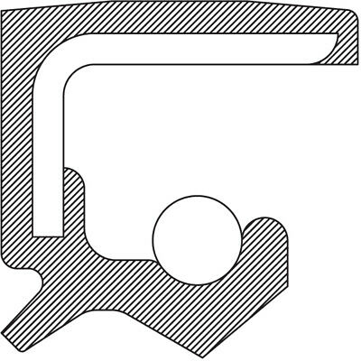 Axle Shaft Seal Front Inner NATIONAL 710491