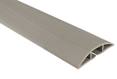 Chargeline Grey Floor Cable Protector/ Floor Hazard Cable Cover Tidy 30cm-9m