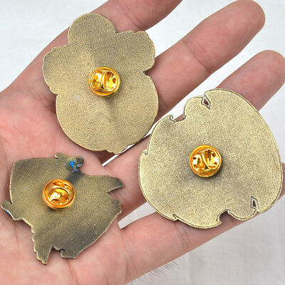 Bronze Harry Potter OWL Hogwarts Golden Snitch Badge Brooth Pin 3Styles