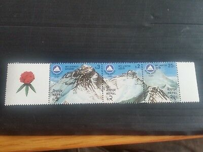 Nepal 1982 Sg 424-426 50Th Anniv Of Airport Mnh