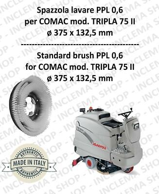 TRIPLA 75 II Cleaning BRUSH  in PPL 0,60 Dimensions ø 375 x 132,5 for scrubber