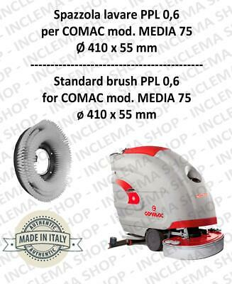 MEDIA 75 Cleaning BRUSH  in PPL 0,60 Dimensions ø 410 X 55 for scrubber dryers
