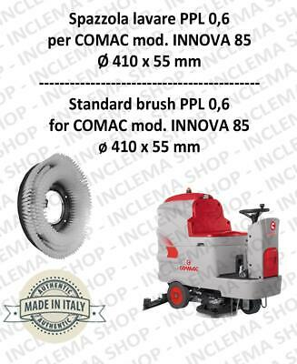 IINNOVA 85 Cleaning BRUSH  in PPL 0,60 Dimensions ø 410 X 55 for scrubber dryer