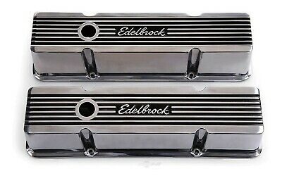 Engine Valve Cover Set-Elite Series Edelbrock 4263