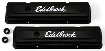 Engine Valve Cover Set-Signature Series Edelbrock 4443