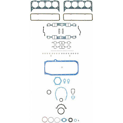 Engine Full Gasket Set-Kit Gasket Set SEALED POWER 260-1268