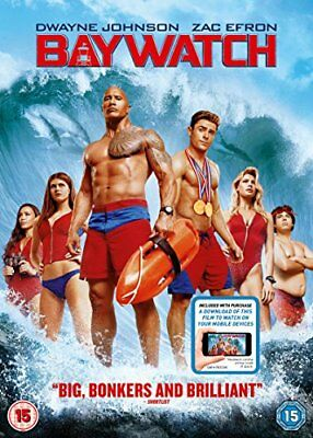 Baywatch (DVD + digital download) [2017] -  CD B1LN The Fast Free Shipping