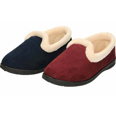 15aa3b86386b Cushion-Walk Slip On Slipper House Shoe Warm Lined Soft Lightweight Flexible