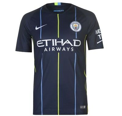 Manchester City Away 2018/19 New Season Adult Football Shirt Uk Stock