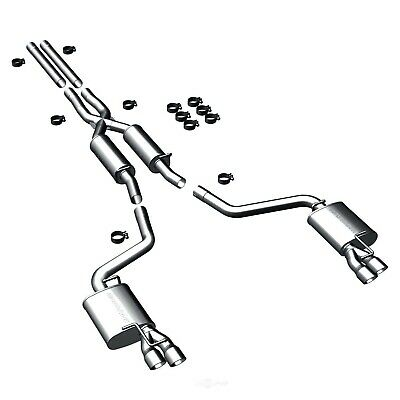 Exhaust System Kit-Street Series Stainless Cat-Back System fits 11-15 Charger