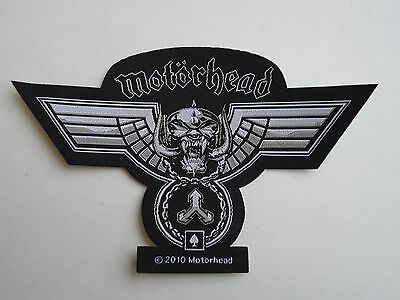 Motorhead Hammered Woven Patch