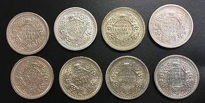 British India ONE RUPEE, 1944 B Uncirculated Silver