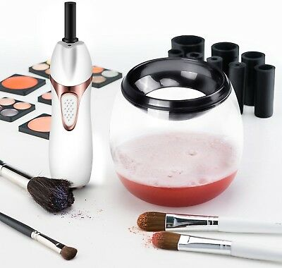 Professional Electric Makeup Brush Cleaner Set - Easily Clean All Brushes