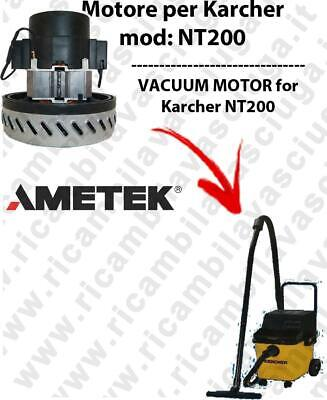 NT200 AMETEK vacuum motor  for vacuum cleaner KARCHER