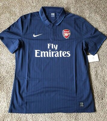 new product 93e47 68b46 NIKE ARSENAL AWAY Soccer Jersey NWT Player Issue England Rare