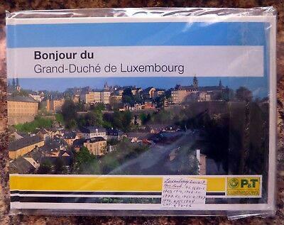 LUXEMBOURG 2004/7 Official Sealed Presentation Book As Described All U/M NK83