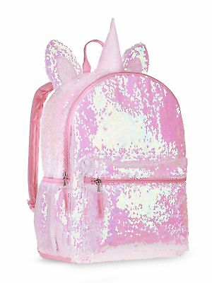 Unicorn 2 Way Sequins Critter Backpack 16