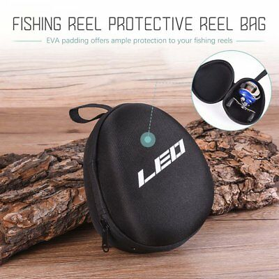 Fishing Reel Bag Case Cover Pouch EVA Tackle Baitcasting Protective Storage UI