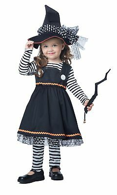 California Costumes Crafty Little Witch Toddler Costume, Size 4-6