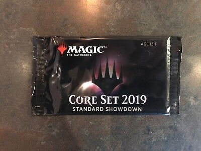 MTG Core Set 2019 Standard Showdown Booster Pack