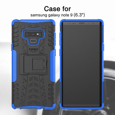 Shock Proof Armour Hybrid Gorilla Stand Heavy Duty Case Cover for Samsung Note 9
