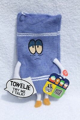 South Park Towelie Talking Plush with Tags Comedy Central Towel Character