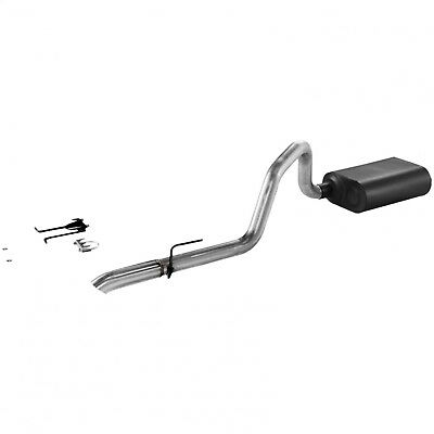 Exhaust System Kit-Force II Cat Back System Exhaust System Kit fits Wrangler