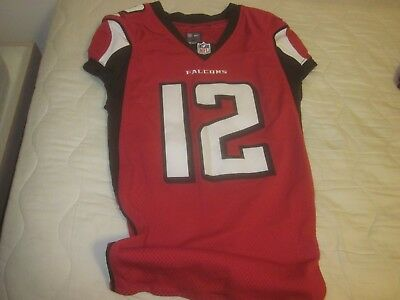 2016 NFL Football Atlanta Falcons Game Used Jersey  12 M. Sanu 1b6262b42