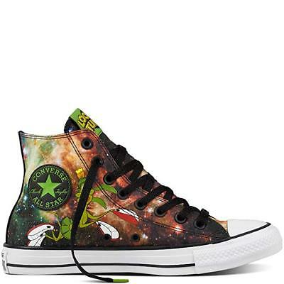 40816699813 CONVERSE LOONEY TUNES Marvin The Martian High Tops Mens 4 Women s 6 ...