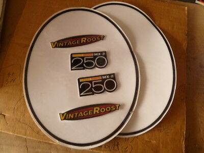 1975 Can Am 250 MX2 misc decals