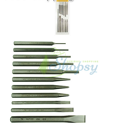 Mayhew Pro 5-Piece Punch Set Made in the USA 23126