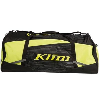 Klim Drift Duffle Gear Bag Snowmobile Trip Travel Luggage - Lime & Black